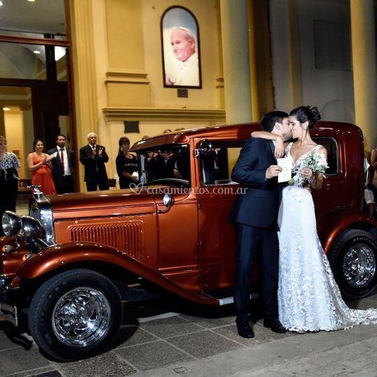 Autos atiguos bodas