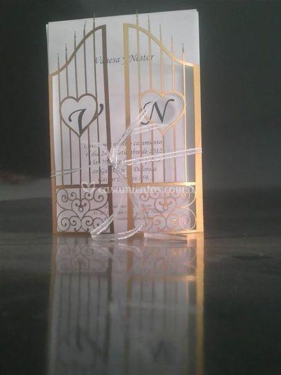 Tarjeta corte láser