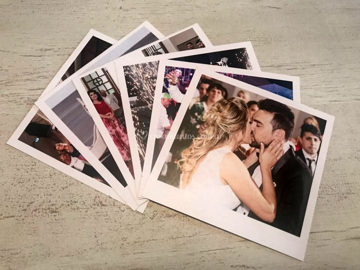 Cabina fotos Polaroid