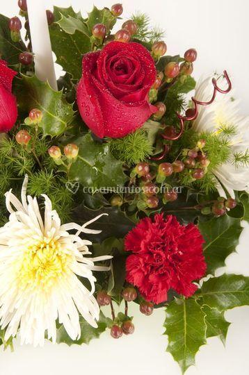 Rosas y crisantemos