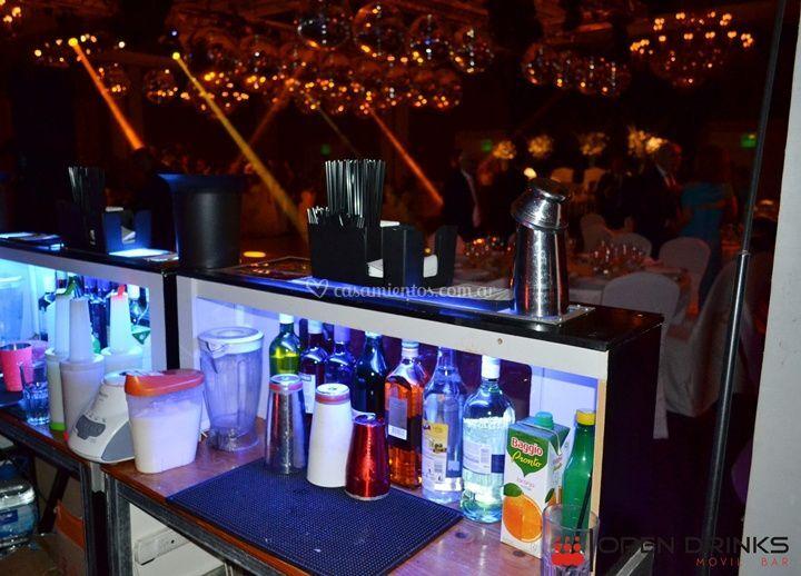 Barra de tragos y bebidas