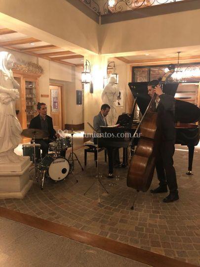Trio Jazz Recepción Hotel
