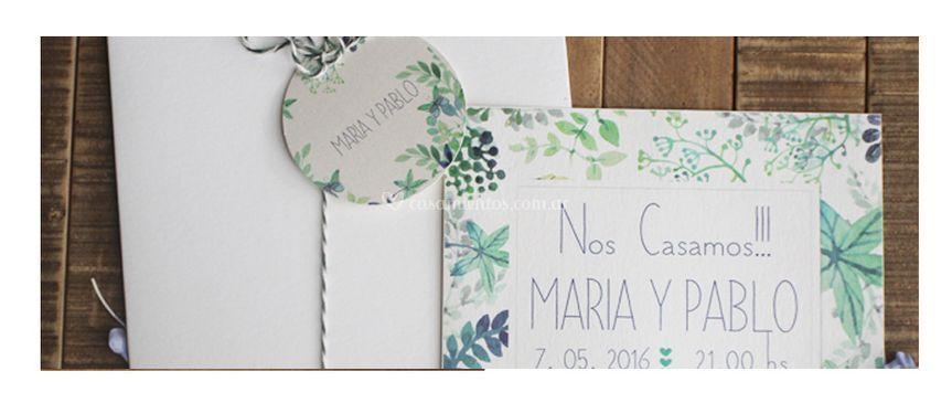 Invitación para casamiento