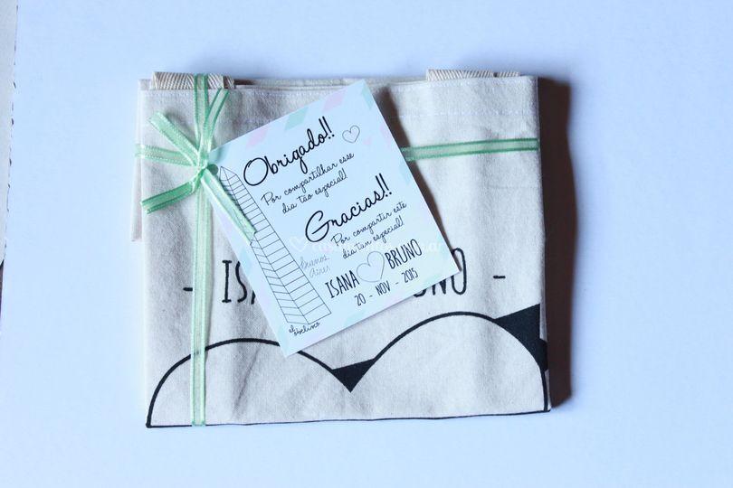 Tarjetón para souvenirs