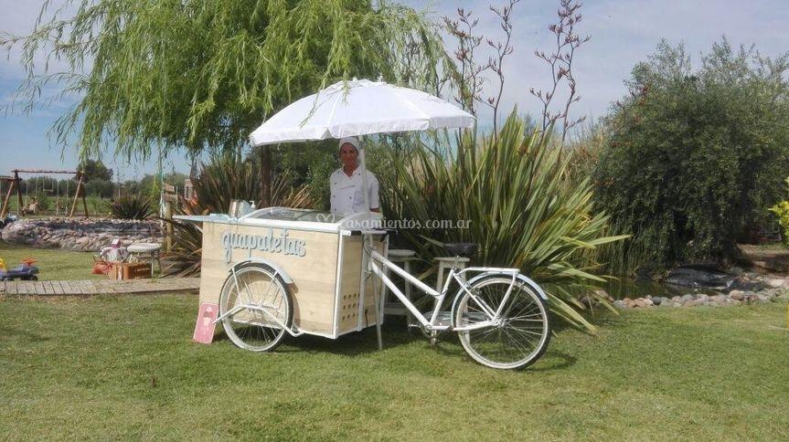 Bicicleta para eventos