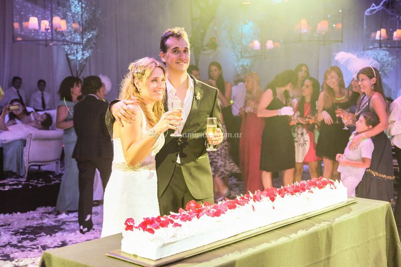 Pastel de casamiento