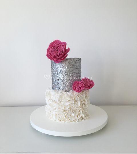 Torta de bodas y 15 años