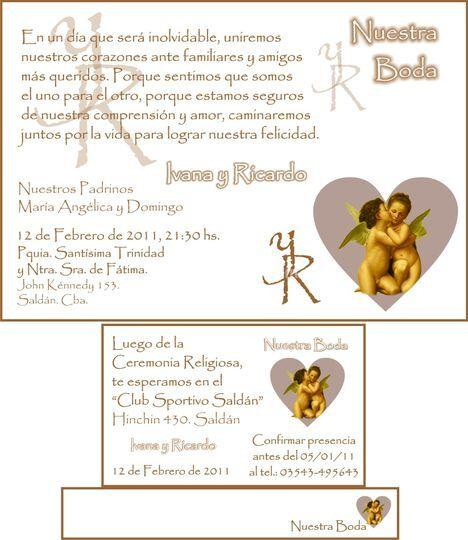 Invitaciones de casamiento