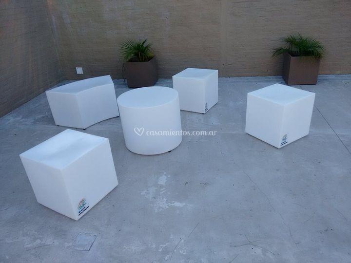 Mobiliario elegantes