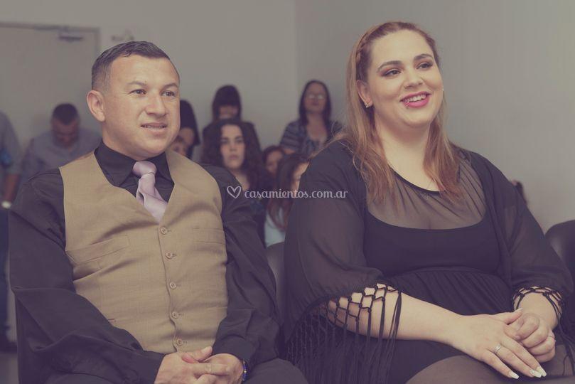 Deborah y Ángel