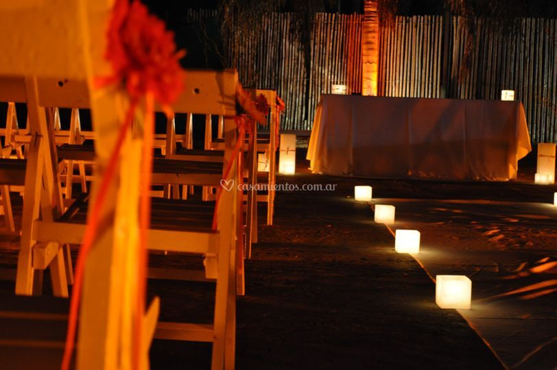 Ceremonia en Punto Bahía