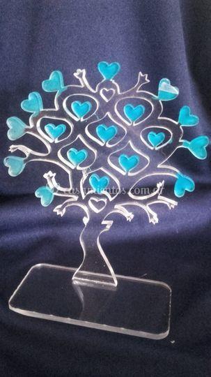 Árbol de la vida corazones