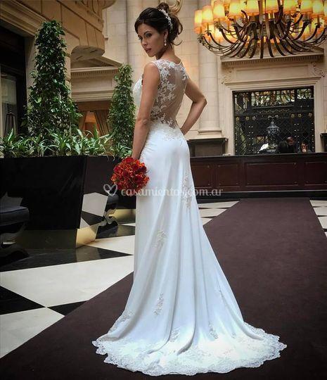 Vestido de novia diseño Roma