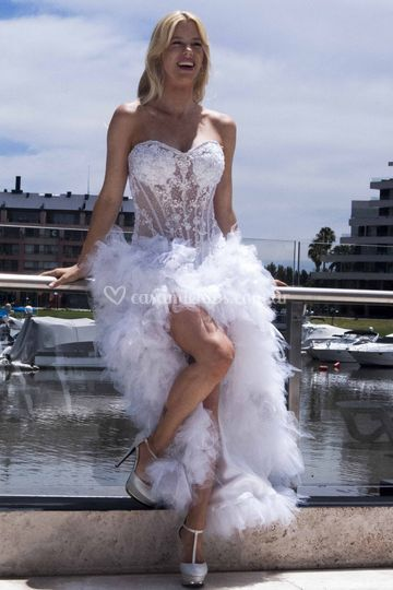 Vestido de Novia Brunetta