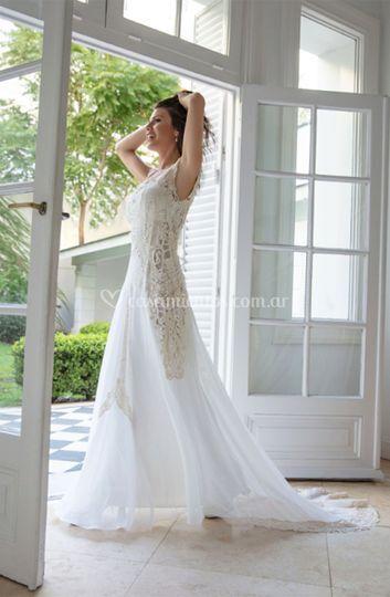 Vestido de novia Rústique
