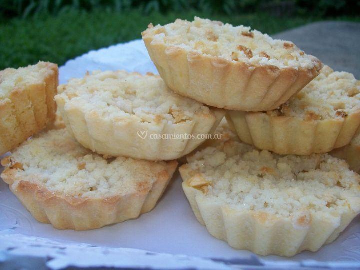 Minicakes de manzana