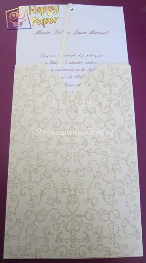 Invitaciones casamientoQ 1506