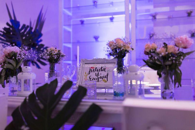 Mesa principal de boda