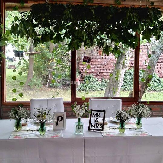 Mesa de bodas