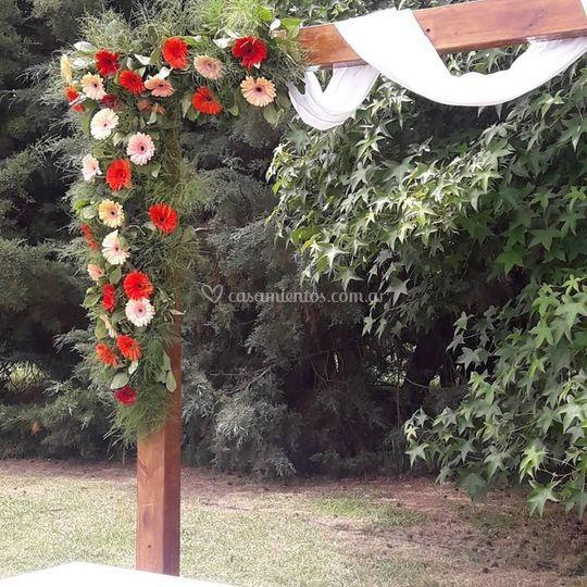Arco de boda Chacra Sofía
