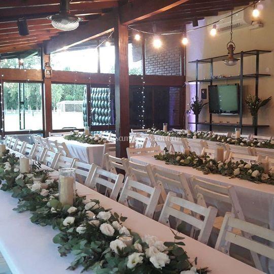 Club House Lagartos boda