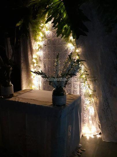 Ceremonia boho chic