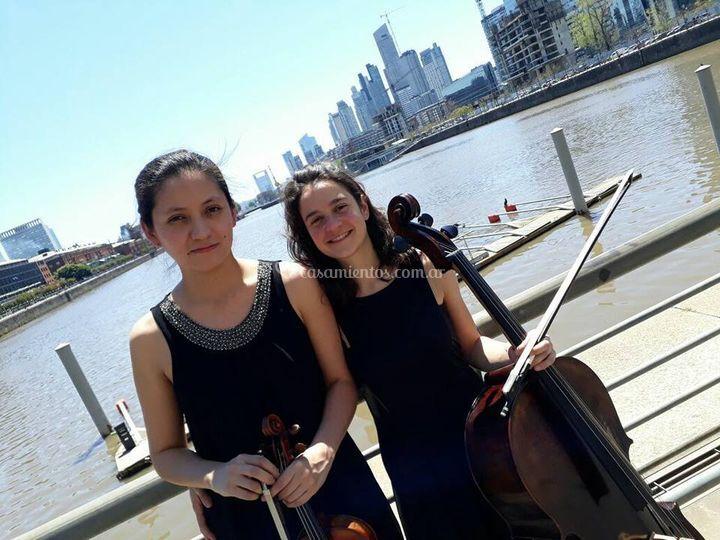 Violinista - cellista