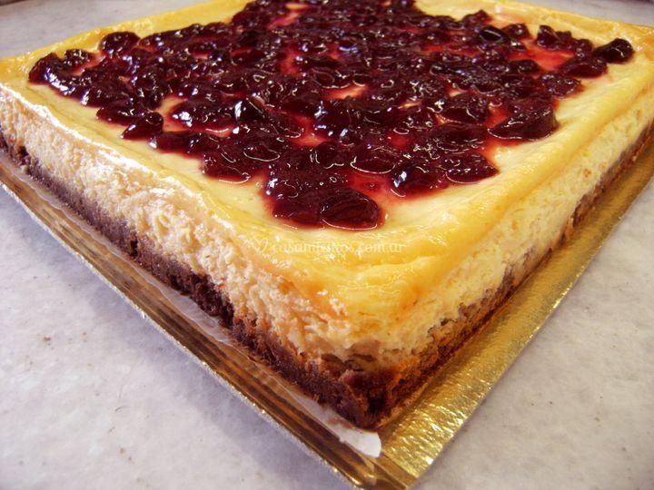 Cheesecake con frutos