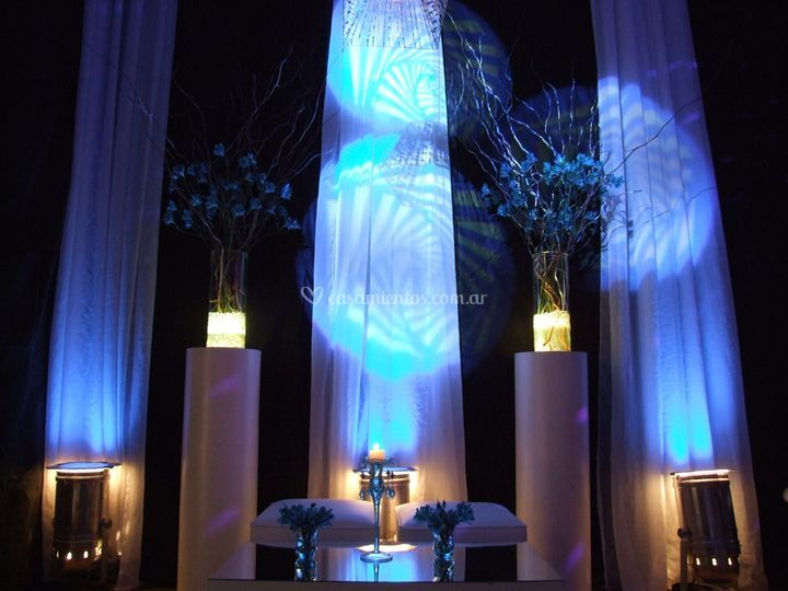 Ambientación lumínica interior