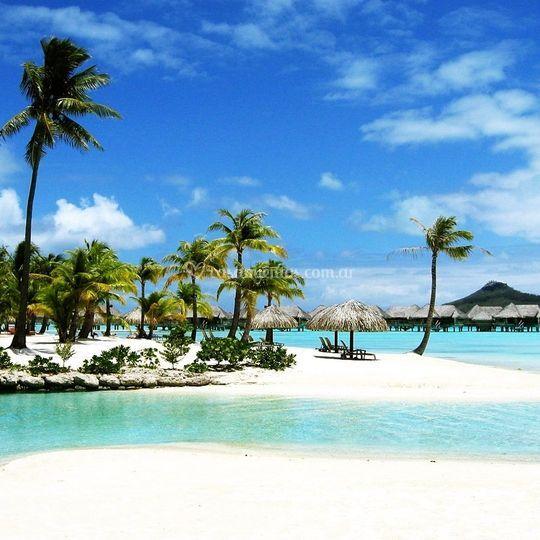 Luna de miel en Bora Bora