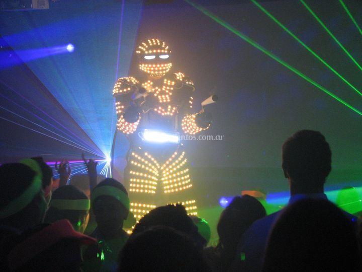 Robot de LEDS