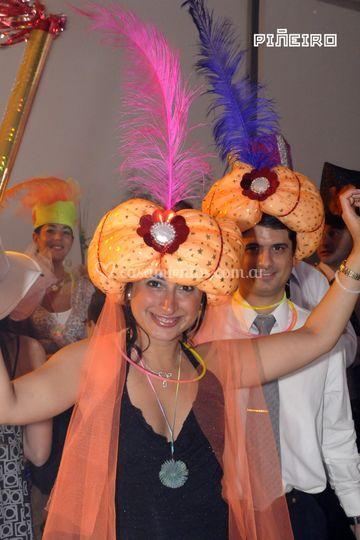 En el festejo