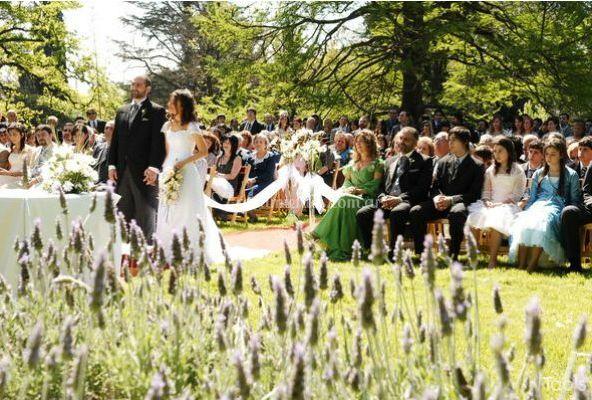 Ceremonias en el exterior