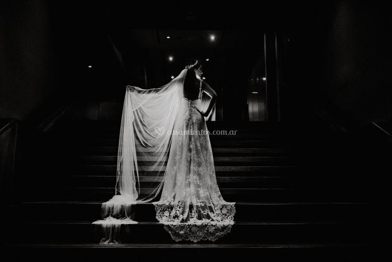 Detalle de novia