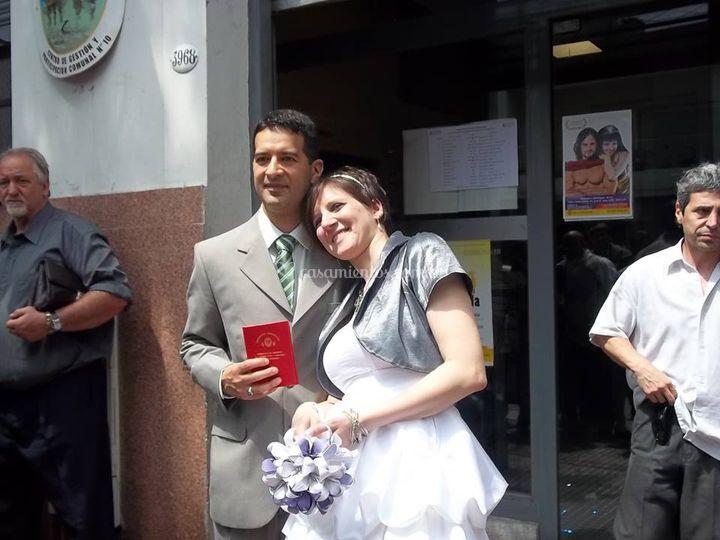 Ramo de novia para civil UCP