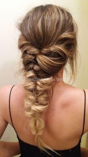 Peinado hermana de la novia