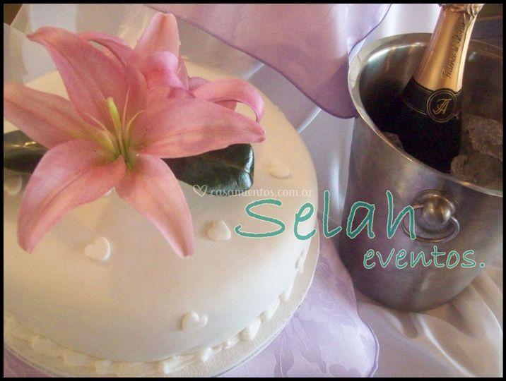 Torta alegórica de Selah Eventos