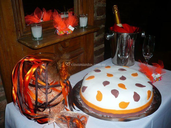 Torta alegórica