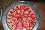 Tarta de frutillas de Selah Eventos