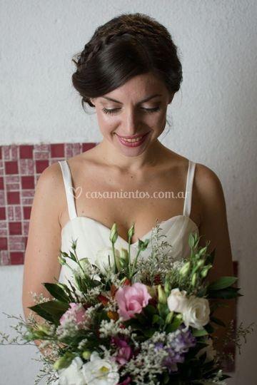 Maquillaje y peinado boda
