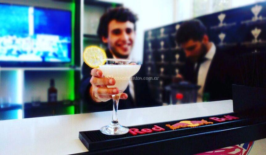 Bartender en acción