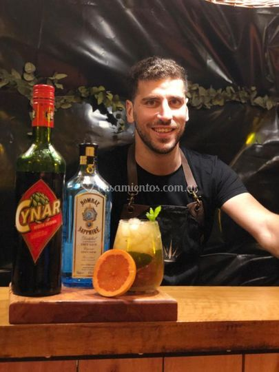 Ignacio chamena bartender