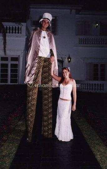 Mimo, estatua viviente, circo