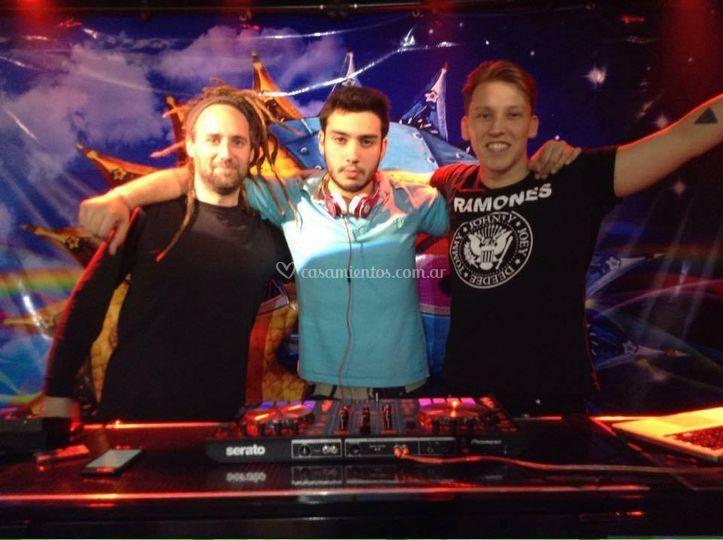 Los DJs