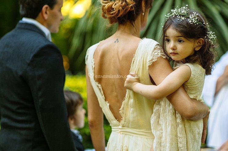 Novia e hija