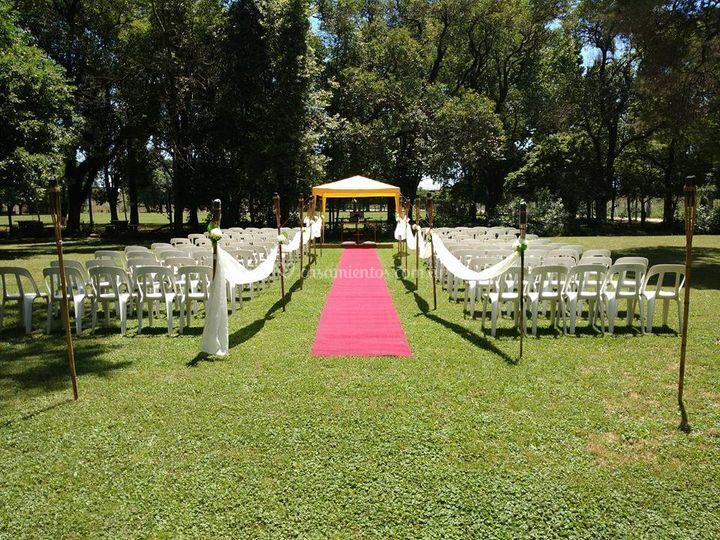 Ceremonia en el pom