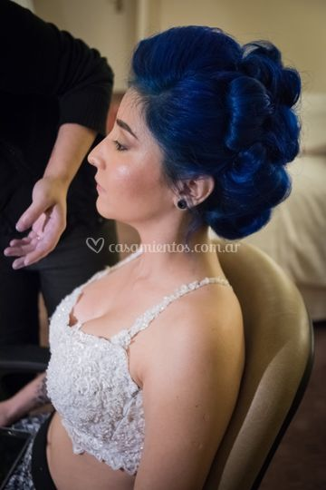 Boda Tamara: pelo y maquillaje