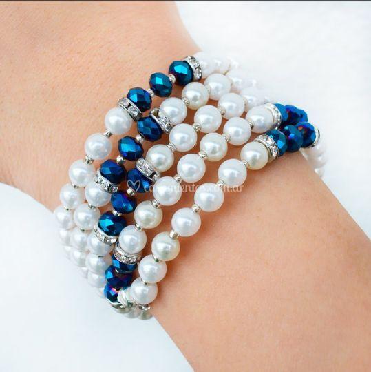 Brazalete de perlas