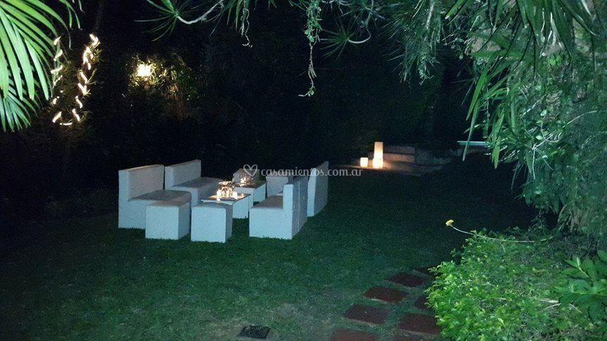 Eventos de noche al aire libre