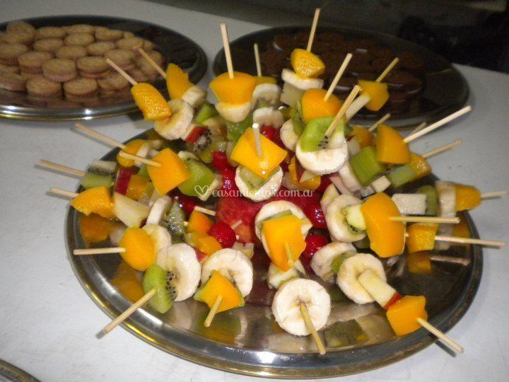 Fruta para acompañar